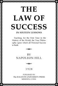 Law of Success Napoleon Hill Free PDF